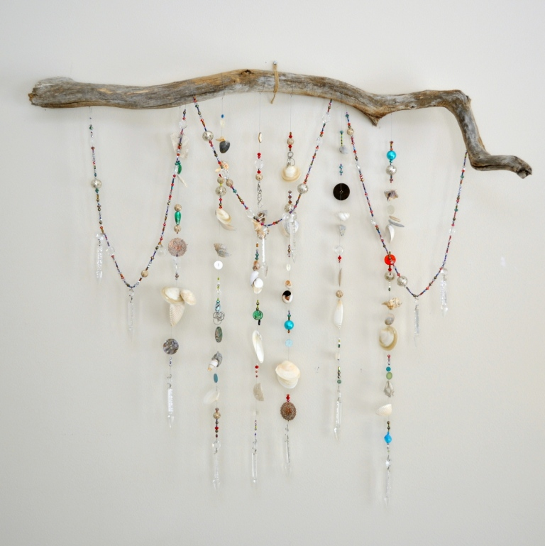 Driftwood Wall Hanging driftwood wall decoration | recycled things