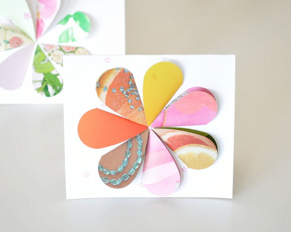 recycled greeting cards | home sweet homemade