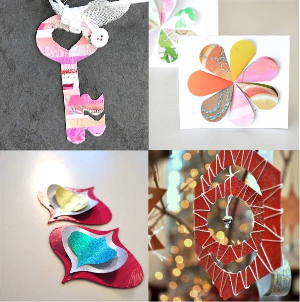 fun and festive paper crafts